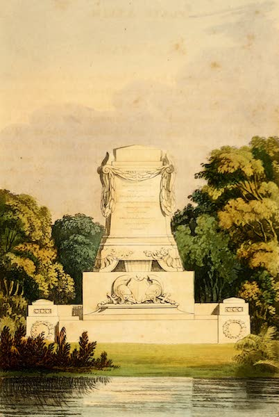 Hints on Ornamental Gardening - A Cenotaph (1823)
