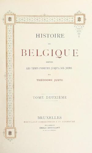British Library - Histoire de Belgique Vol. 2