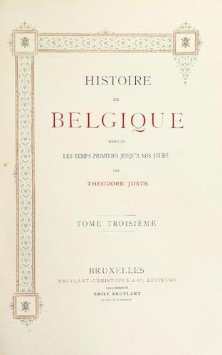 French - Histoire de Belgique Vol. 3