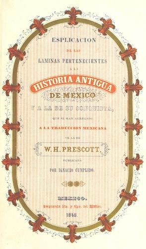 Historia de la Conquista de Mexico Vol. 3 (1844)