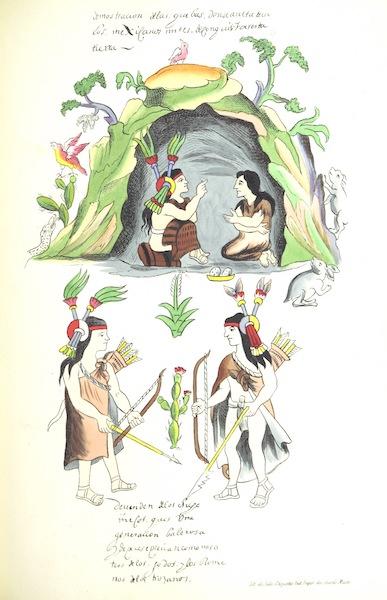 Historia de las Indias de Nueva Espana y Islas de Tierra Firme Atlas - Frontispiece (1880)