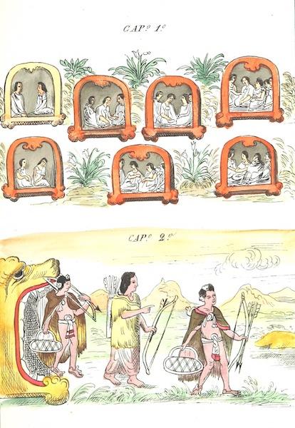 Historia de las Indias de Nueva Espana y Islas de Tierra Firme Atlas - Trat: 1 - Lamina 1 (1880)