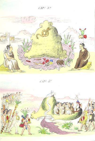 Historia de las Indias de Nueva Espana y Islas de Tierra Firme Atlas - Trat: 1 - Lamina 2 (1880)