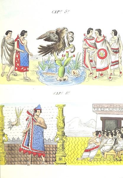 Historia de las Indias de Nueva Espana y Islas de Tierra Firme Atlas - Trat: 1 - Lamina 3 (1880)