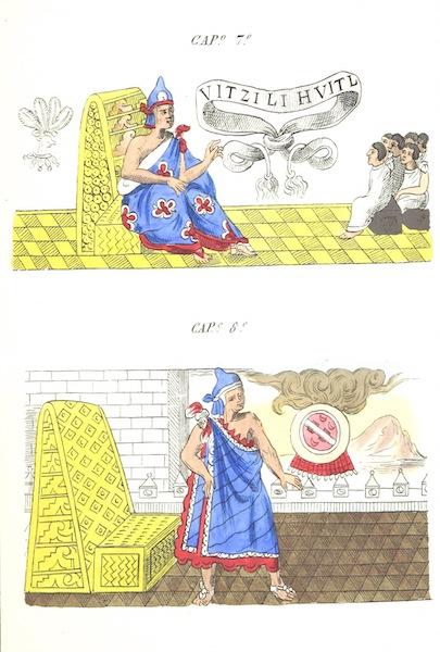 Historia de las Indias de Nueva Espana y Islas de Tierra Firme Atlas - Trat: 1 - Lamina 4 (1880)