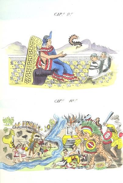 Historia de las Indias de Nueva Espana y Islas de Tierra Firme Atlas - Trat: 1 - Lamina 5 (1880)