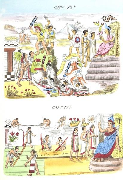 Historia de las Indias de Nueva Espana y Islas de Tierra Firme Atlas - Trat: 1 - Lamina 6 (1880)