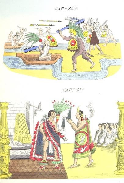 Historia de las Indias de Nueva Espana y Islas de Tierra Firme Atlas - Trat: 1 - Lamina 7 (1880)