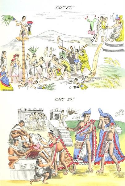 Historia de las Indias de Nueva Espana y Islas de Tierra Firme Atlas - Trat: 1 - Lamina 8 (1880)