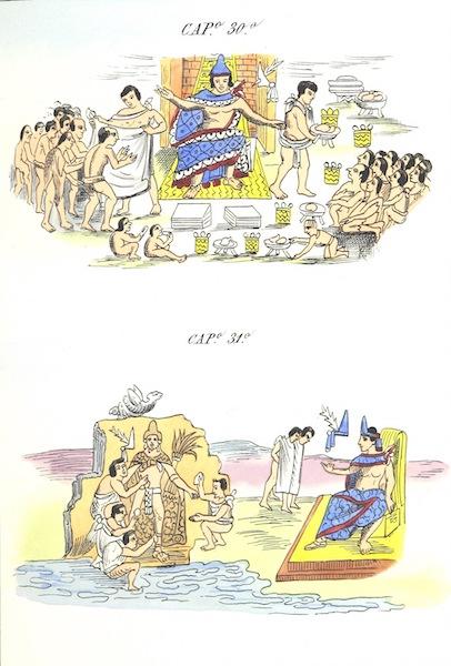 Historia de las Indias de Nueva Espana y Islas de Tierra Firme Atlas - Trat: 1 - Lamina 9 (1880)