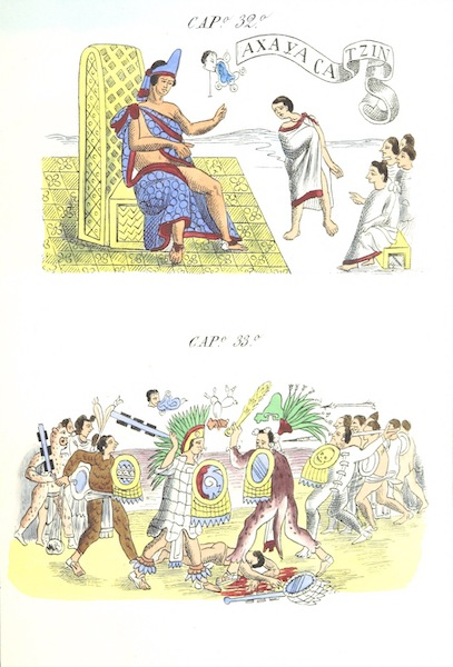 Historia de las Indias de Nueva Espana y Islas de Tierra Firme Atlas - Trat: 1 - Lamina 10 (1880)