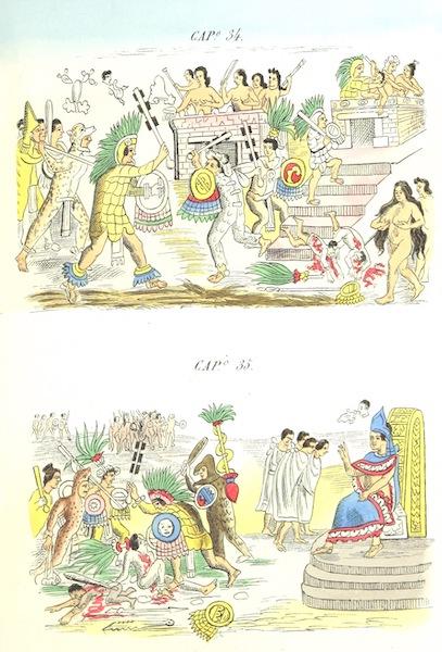 Historia de las Indias de Nueva Espana y Islas de Tierra Firme Atlas - Trat: 1 - Lamina 11 (1880)