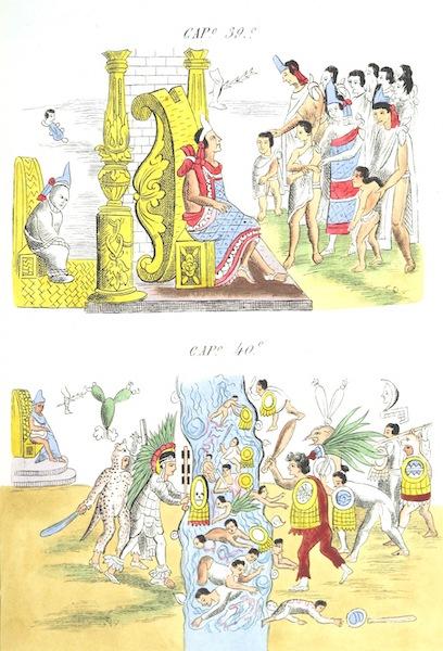 Historia de las Indias de Nueva Espana y Islas de Tierra Firme Atlas - Trat: 1 - Lamina 13 (1880)