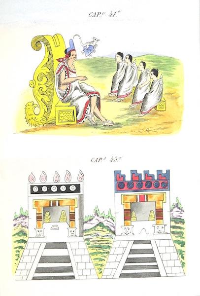 Historia de las Indias de Nueva Espana y Islas de Tierra Firme Atlas - Trat: 1 - Lamina 14 (1880)