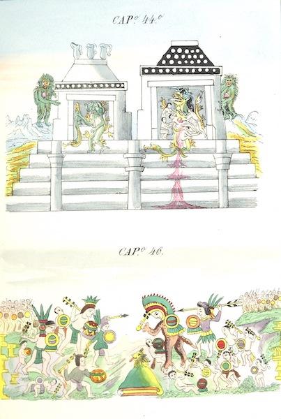 Historia de las Indias de Nueva Espana y Islas de Tierra Firme Atlas - Trat: 1 - Lamina 15 (1880)