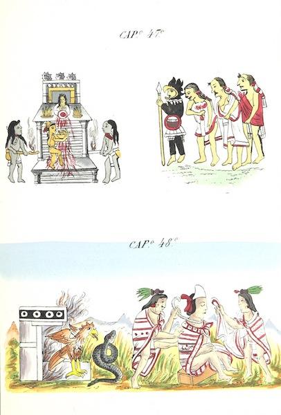 Historia de las Indias de Nueva Espana y Islas de Tierra Firme Atlas - Trat: 1 - Lamina 16 (1880)