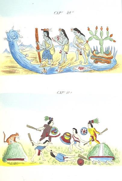 Historia de las Indias de Nueva Espana y Islas de Tierra Firme Atlas - Trat: 1 - Lamina 17 (1880)