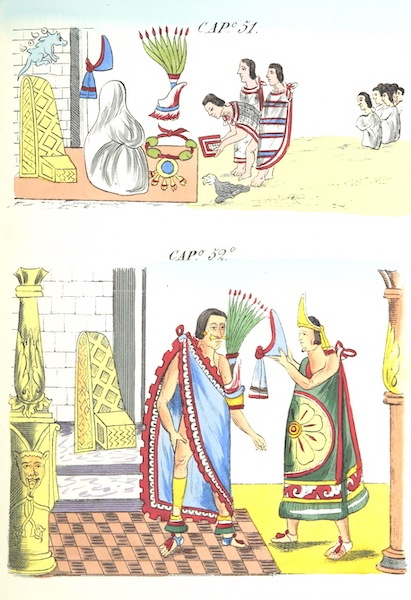 Historia de las Indias de Nueva Espana y Islas de Tierra Firme Atlas - Trat: 1 - Lamina 18 (1880)