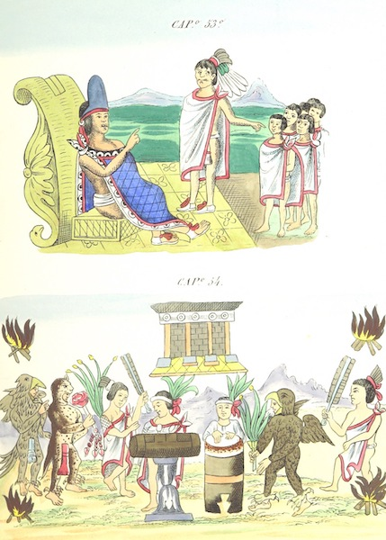 Historia de las Indias de Nueva Espana y Islas de Tierra Firme Atlas - Trat: 1 - Lamina 19 (1880)