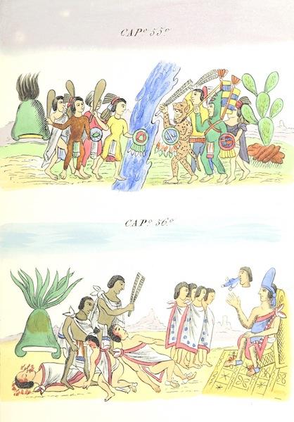 Historia de las Indias de Nueva Espana y Islas de Tierra Firme Atlas - Trat: 1 - Lamina 20 (1880)