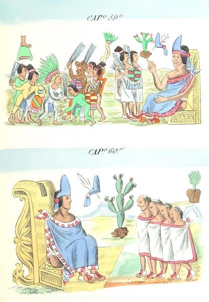 Historia de las Indias de Nueva Espana y Islas de Tierra Firme Atlas - Trat: 1 - Lamina 22 (1880)