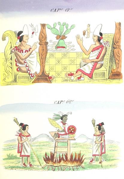 Historia de las Indias de Nueva Espana y Islas de Tierra Firme Atlas - Trat: 1 - Lamina 23 (1880)