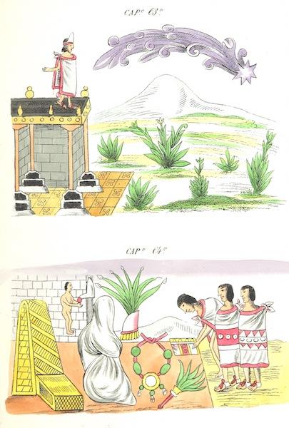 Historia de las Indias de Nueva Espana y Islas de Tierra Firme Atlas - Trat: 1 - Lamina 24 (1880)