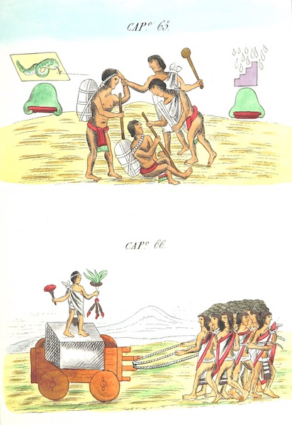 Historia de las Indias de Nueva Espana y Islas de Tierra Firme Atlas - Trat: 1 - Lamina 25 (1880)