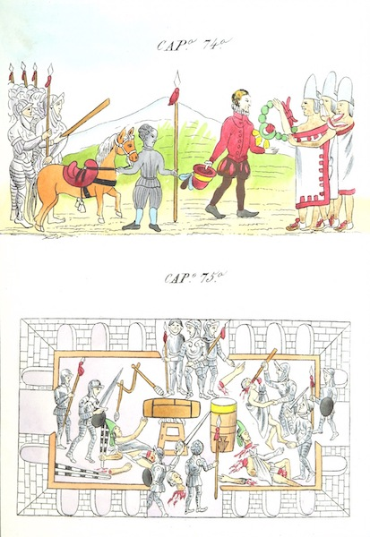 Historia de las Indias de Nueva Espana y Islas de Tierra Firme Atlas - Trat: 1 - Lamina 29 (1880)