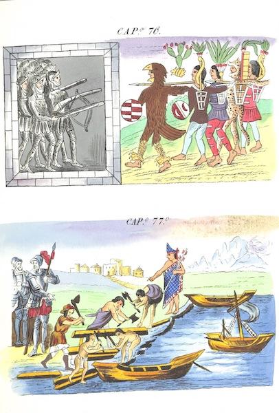 Historia de las Indias de Nueva Espana y Islas de Tierra Firme Atlas - Trat: 1 - Lamina 30 (1880)