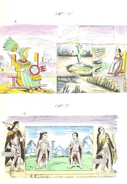 Historia de las Indias de Nueva Espana y Islas de Tierra Firme Atlas - Trat: 2 - Lamina 2 (1880)