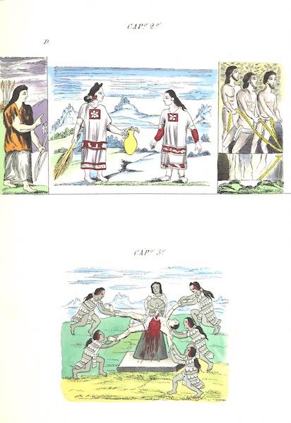 Historia de las Indias de Nueva Espana y Islas de Tierra Firme Atlas - Trat: 2 - Lamina 4 (1880)