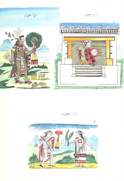 Historia de las Indias de Nueva Espana y Islas de Tierra Firme Atlas - Trat: 2 - Lamina 5 (1880)