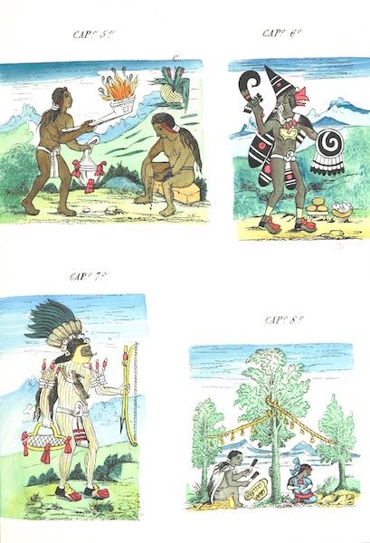 Historia de las Indias de Nueva Espana y Islas de Tierra Firme Atlas - Trat: 2 - Lamina 6 (1880)