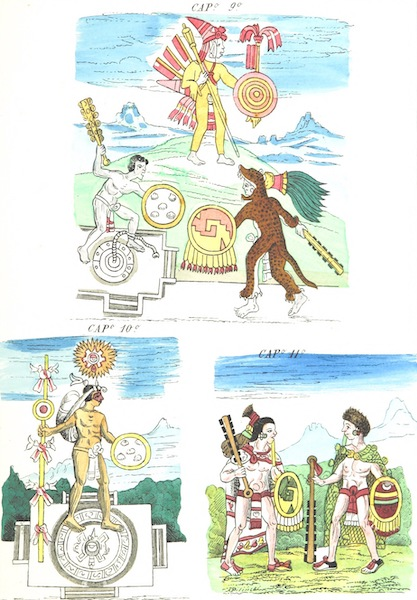 Historia de las Indias de Nueva Espana y Islas de Tierra Firme Atlas - Trat: 2 - Lamina 7 (1880)