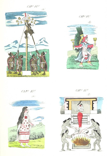 Historia de las Indias de Nueva Espana y Islas de Tierra Firme Atlas - Trat: 2 - Lamina (1880)