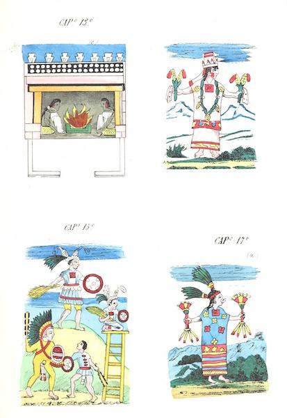 Historia de las Indias de Nueva Espana y Islas de Tierra Firme Atlas - Trat: 2 - Lamina 9 (1880)