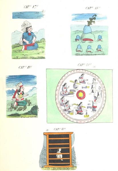 Historia de las Indias de Nueva Espana y Islas de Tierra Firme Atlas - Trat: 2 - Lamina 10 (1880)
