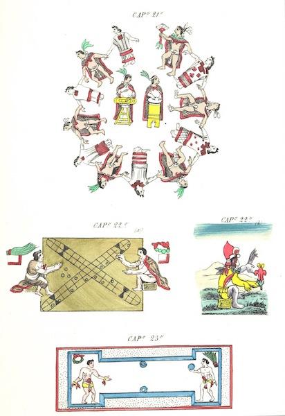 Historia de las Indias de Nueva Espana y Islas de Tierra Firme Atlas - Trat: 2 - Lamina 11 (1880)