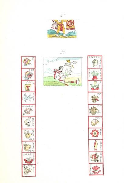 Historia de las Indias de Nueva Espana y Islas de Tierra Firme Atlas - Trat: 3 - Lamina 3 (1880)