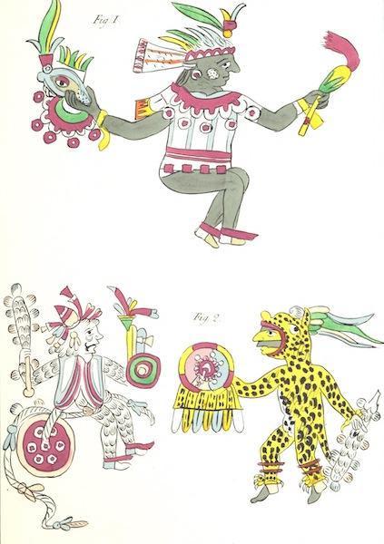 Historia de las Indias de Nueva Espana y Islas de Tierra Firme Atlas - Apendice - Lamina 1 (1880)