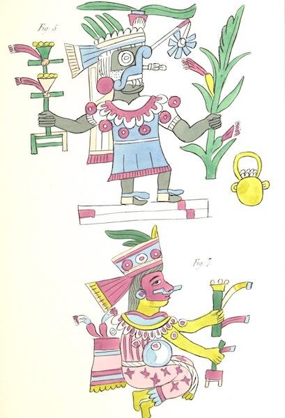 Historia de las Indias de Nueva Espana y Islas de Tierra Firme Atlas - Apendice - Lamina 3 (1880)