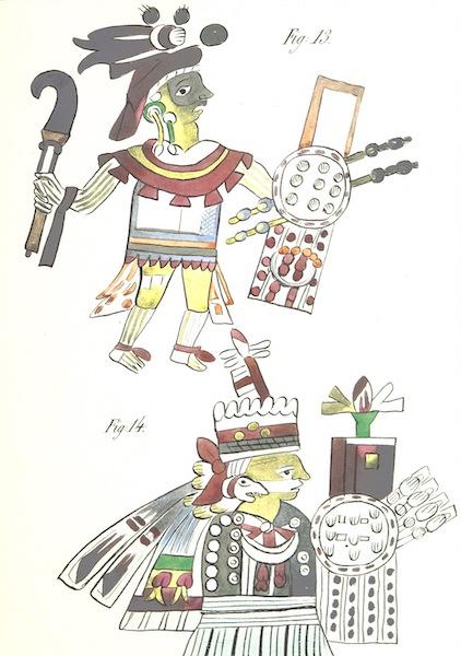 Historia de las Indias de Nueva Espana y Islas de Tierra Firme Atlas - Apendice - Lamina 8 (1880)