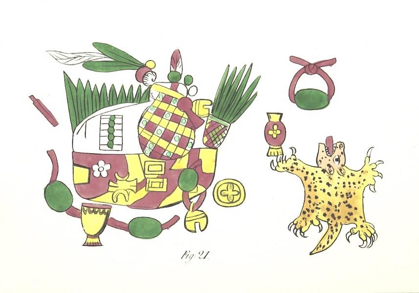 Historia de las Indias de Nueva Espana y Islas de Tierra Firme Atlas - Apendice - Lamina 14 (1880)