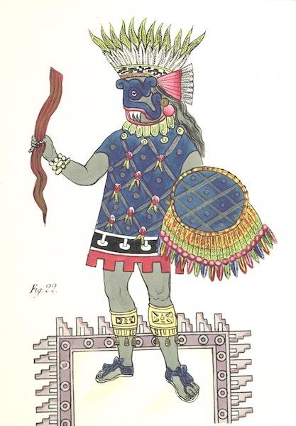 Historia de las Indias de Nueva Espana y Islas de Tierra Firme Atlas - Apendice - Lamina 15 (1880)