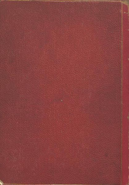 Historia de las Indias de Nueva Espana y Islas de Tierra Firme Atlas - Back Cover (1880)