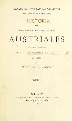 British Library - Historia del Descubrimiento de las Regiones Austriales