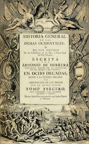 Historia General de las Indias Ocidentales Vol. 3 (1728)