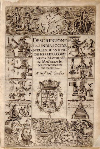Spanish - Historia General de los Hechos de los Castellanos Atlas