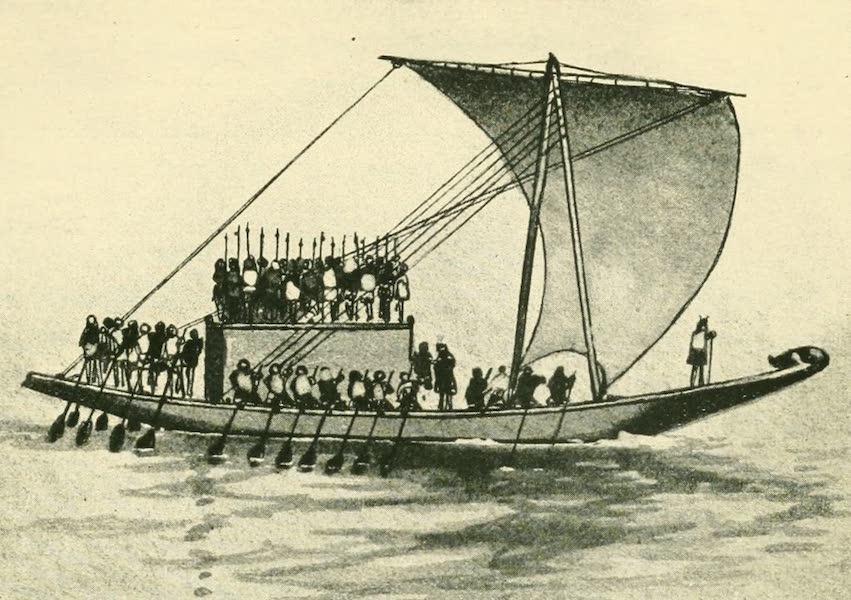 Historic Ships - Nile Boat 2500 B.C. (1926)